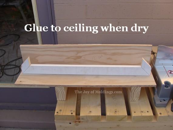 kitchen crown molding buildup cornice