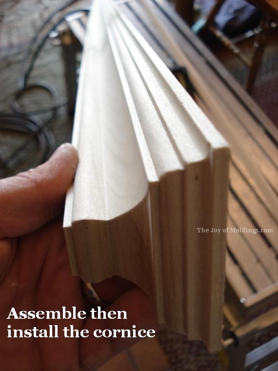 victorian door trim header entablature molding
