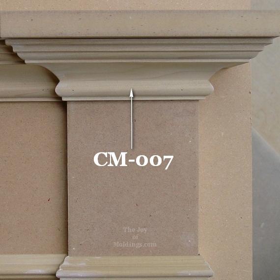 crown molding for door trim cornice