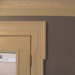 diy mdf door trim molding greek revival