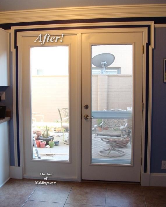 neoclassical door trim molding