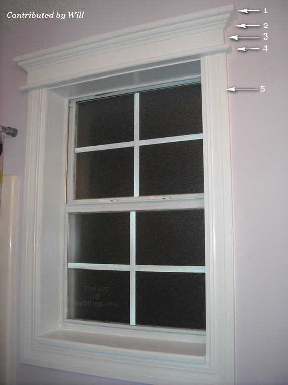 window trim design elements