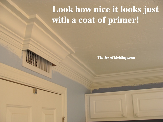 How to Paint Moldings - The Joy of Moldings