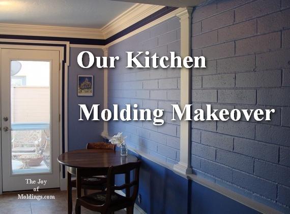kitchen molding renovation