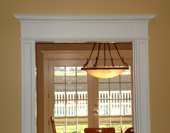Before Amp After Victorian Farmhouse Door Trim The Joy Of