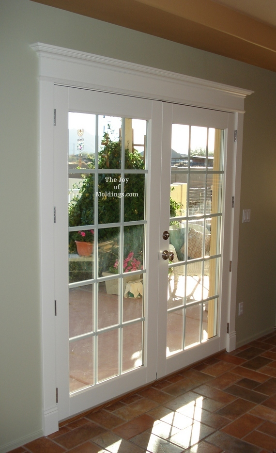 french porch double door