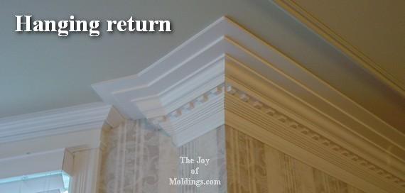 Four Ways To Terminate A Crown Molding The Joy Of Moldings