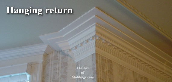 Four Ways to Terminate a Crown Molding - The Joy of Moldings