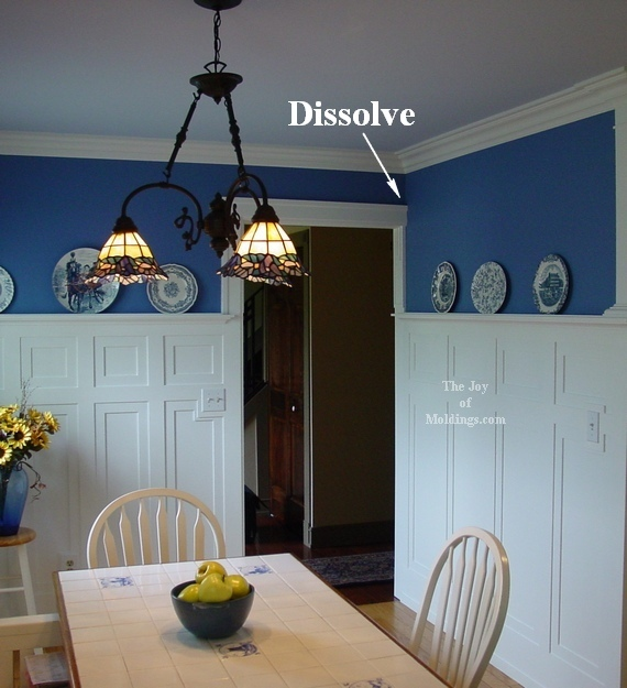 kitchen door trim too large for opening