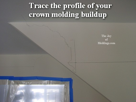 crown molding return