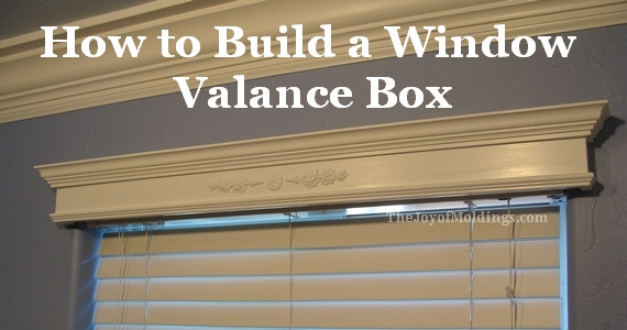 how to build a wooden valance box eoropeza1. Black Bedroom Furniture Sets. Home Design Ideas