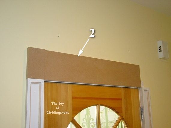 how to install easy door trim molding