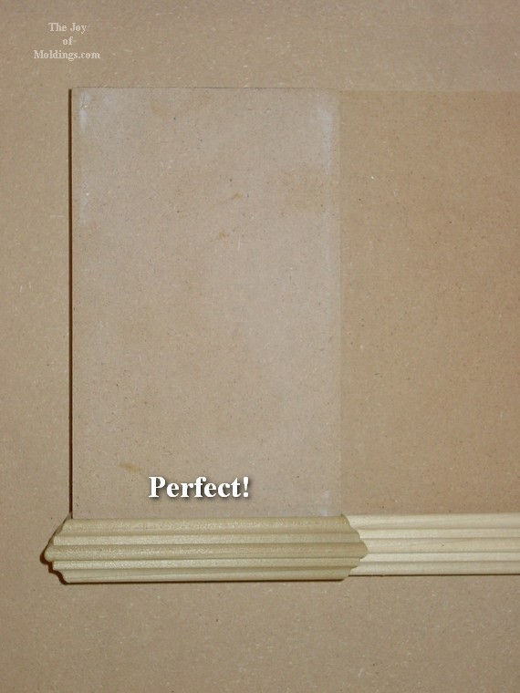 diy easy mdf door trim moldings