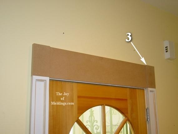 how to install easy mdf door trim moldings