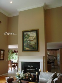 how to build a diy fireplace mantel