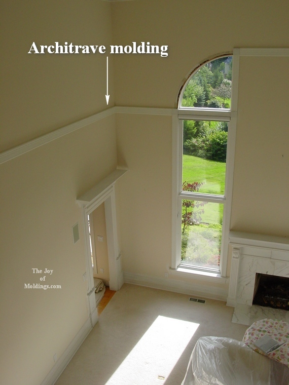 moldings for great rooms