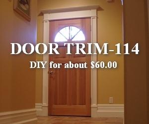 diy step by step victorian door trim tutorial