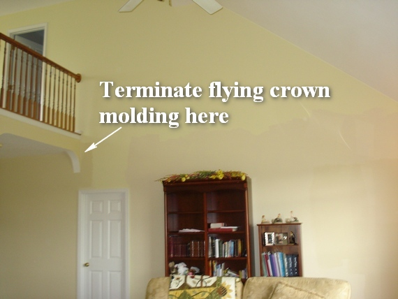 great room crown molding ideas