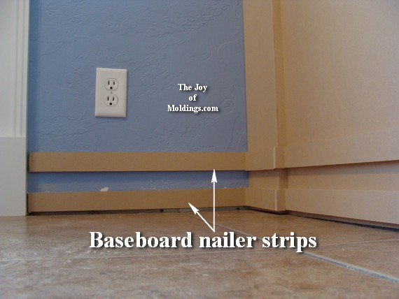 how to install wainscoting molding