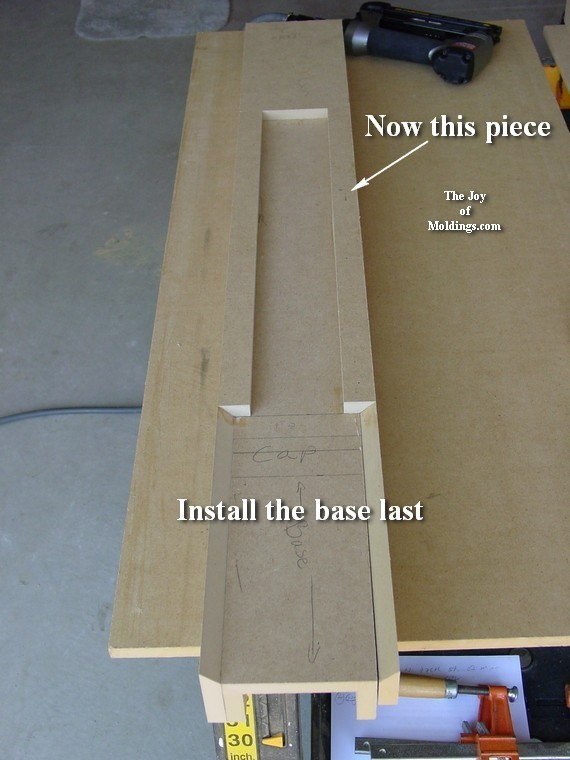 how to make a fireplace surround