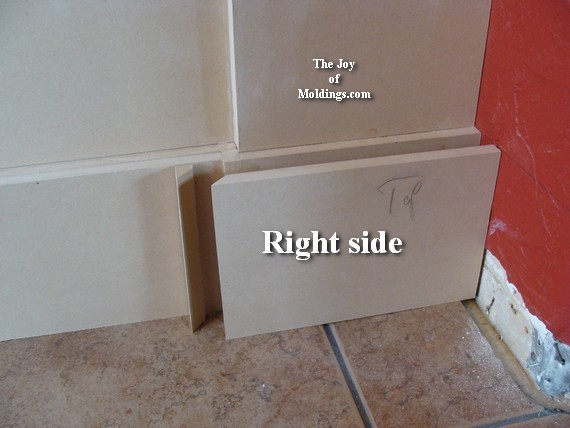 how to install wainscoting baseboard