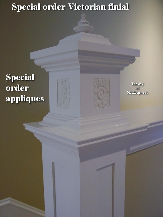 Rosette rectangular decorators supply