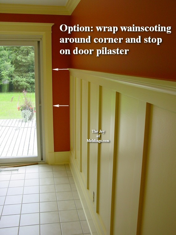 how to install easy diy mdf wainscoting