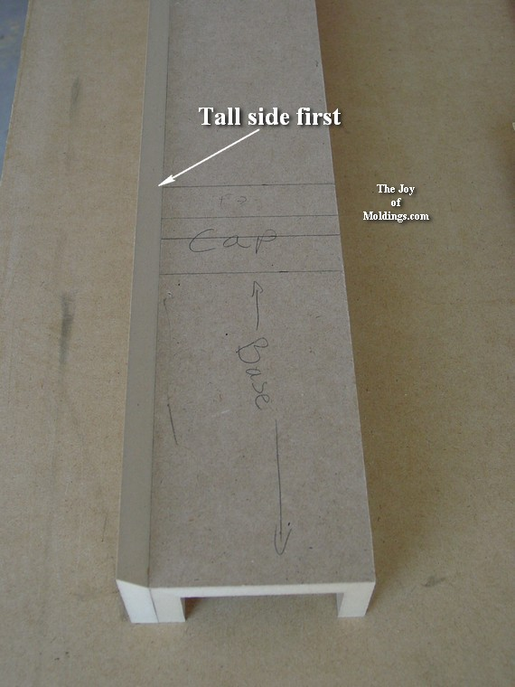 how to build a fireplace column
