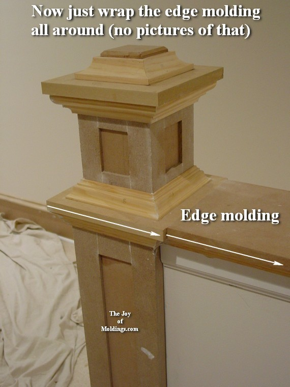 how to decorate with moldings