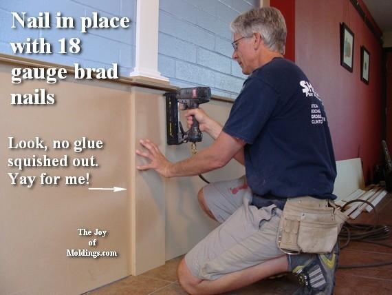 finish trim carpenter