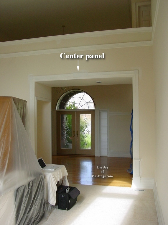 Interior archway trim for Decorative archway mouldings