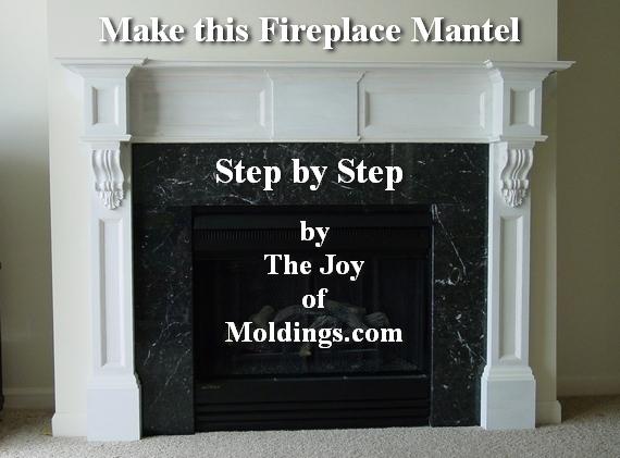 free diy fireplace mantel plans