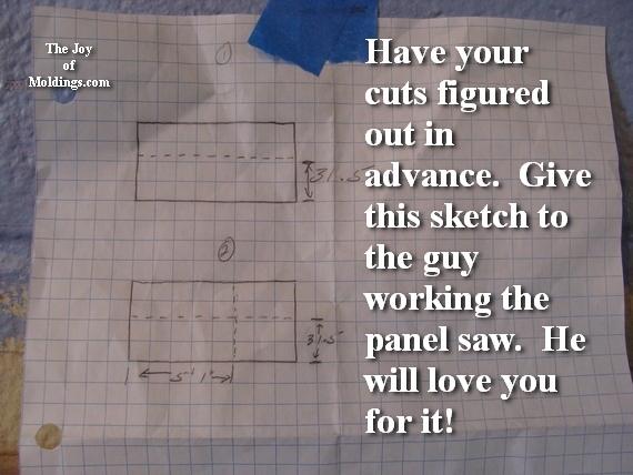mdf board cut plans
