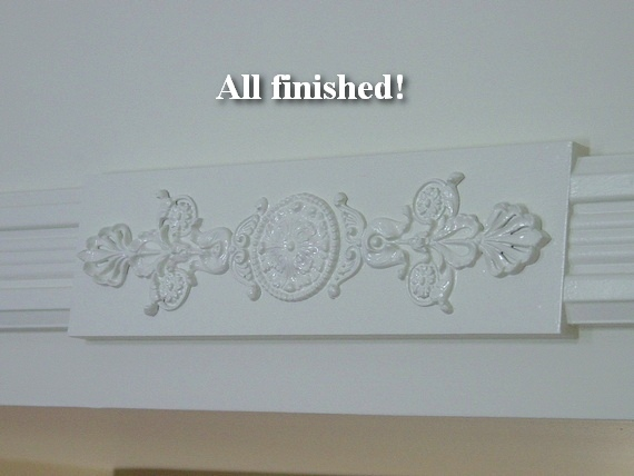 Victorian architectural decoration door trim