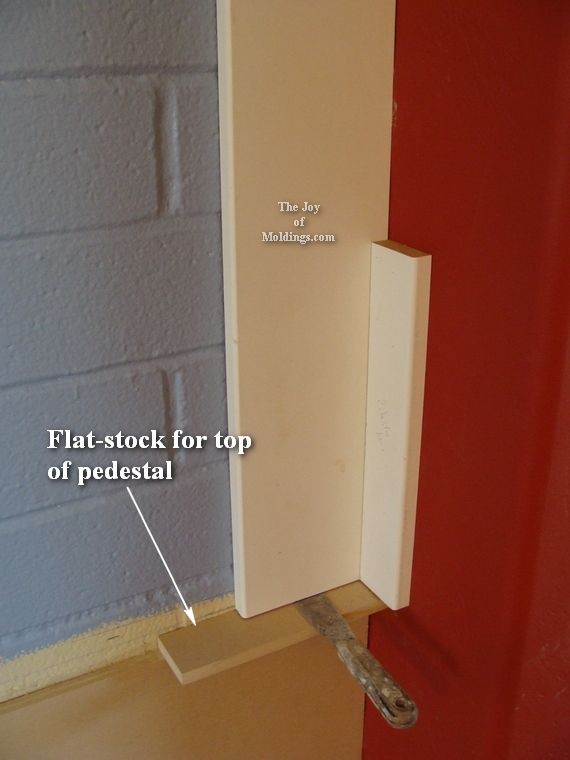 how to make a diy pilaster column