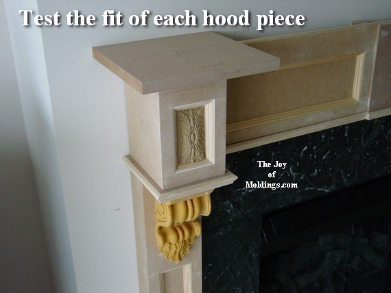 how to make fireplace mantel step by step