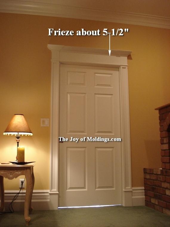 5 Victorian Overdoor Door Trim Frieze The Joy Of Moldings