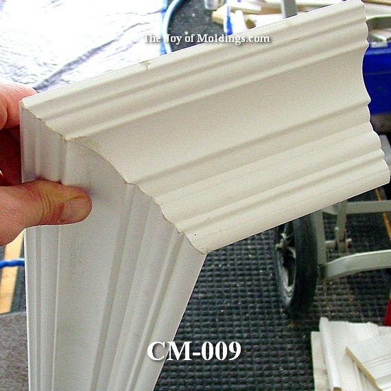 large mdf Victorian crown molding
