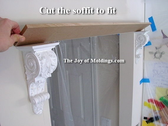 how to install corbels