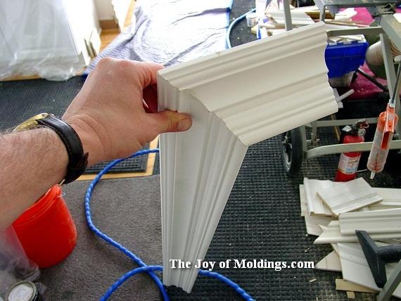 easy crown molding over door