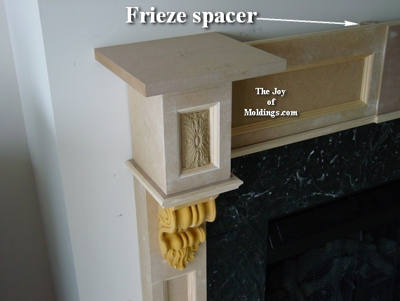 fireplace mantel how to build from mdf free plans