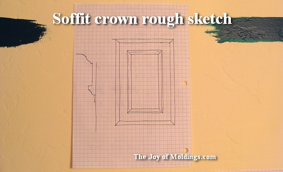 crown molding for small bathroom
