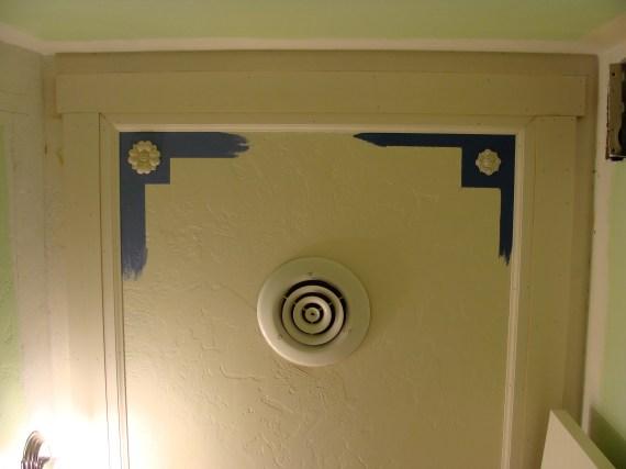 woodworking applique round rosette