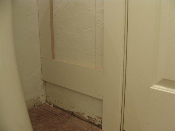 how to install bathroom moldings