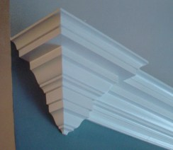 how to terminate a crown molding
