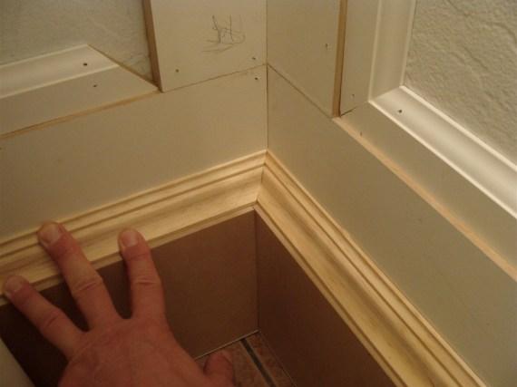baseboard molding installation