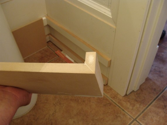 mdf baseboard molding trim