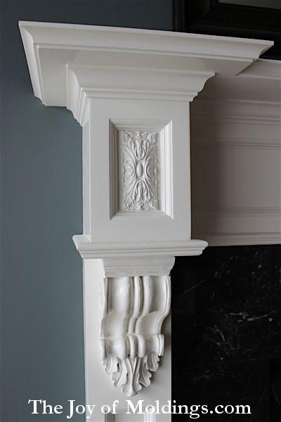 fireplace mantel free plans