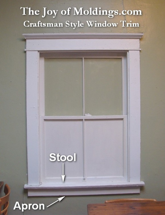 How To Make A Craftsman Style Window Surround The Joy Of Moldings