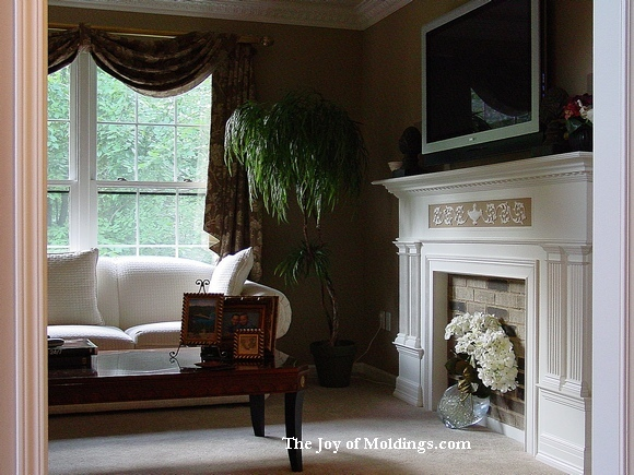 custom fireplace mantel michigan